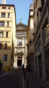 L'église Saint-Polycarpe, au coeur du quartier de Lyon 1er.