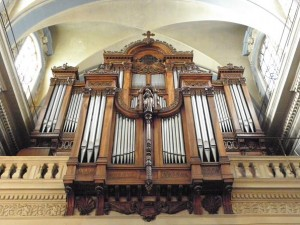 Orgue de Saint-Polycarpe. Source : Wikipedia.